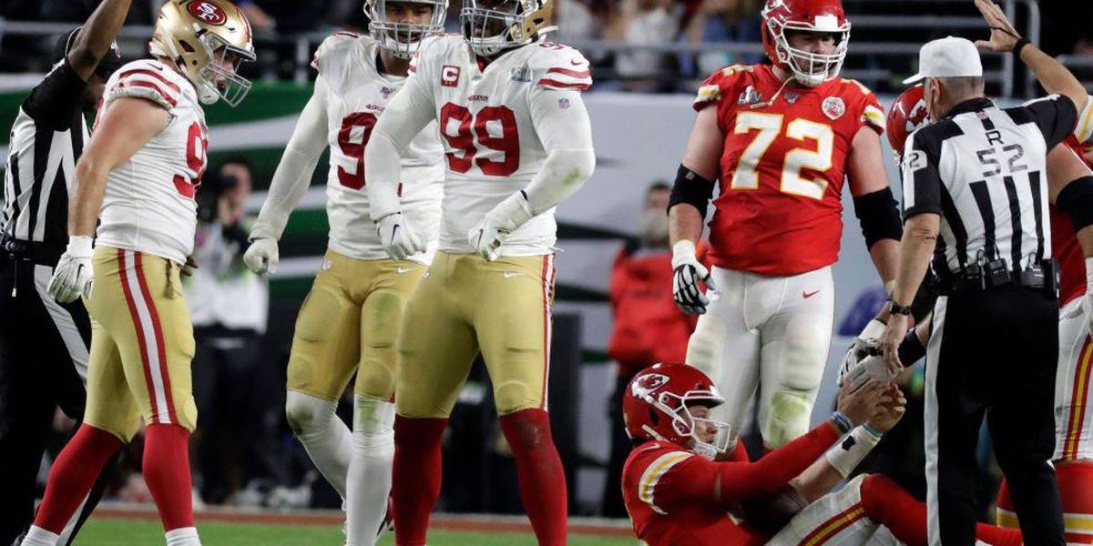 Buckner records two sacks as 49ers fall in Super Bowl LIV to Kansas City Chiefs