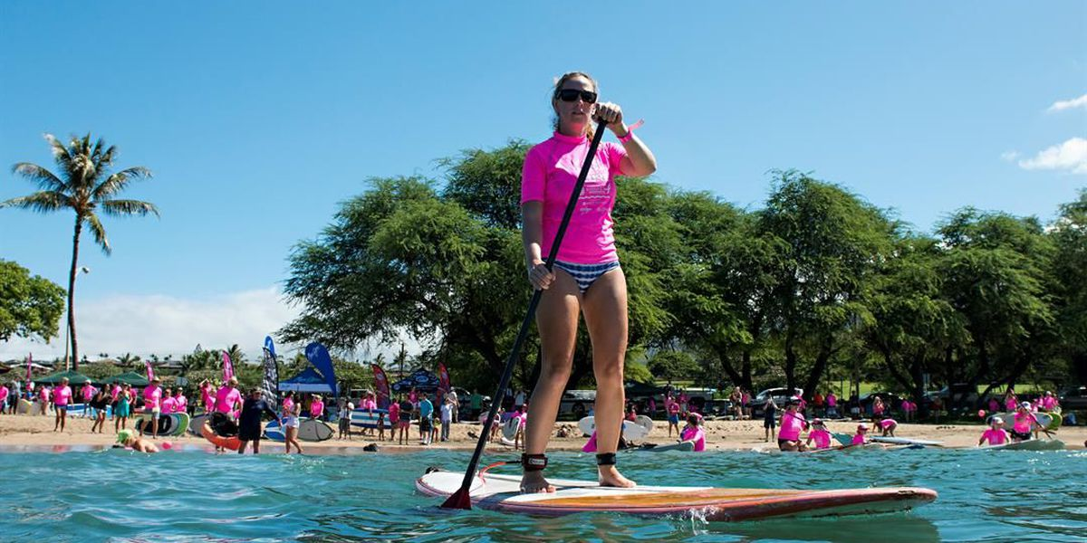 3rd Annual Maui Paddle for a Cure to kick-off Saturday