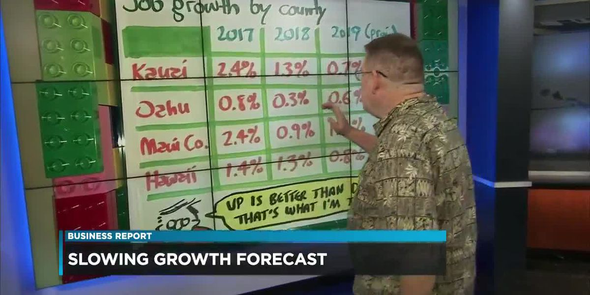 Business: UH forecast of slowing growth