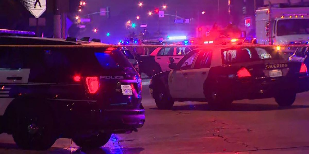 Los Angeles police officers shot in 'ambush'