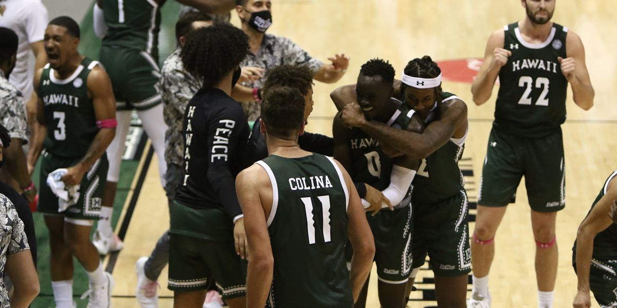 Rainbow Warriors get weekend sweep over Cal Poly with 81-64 victory at home