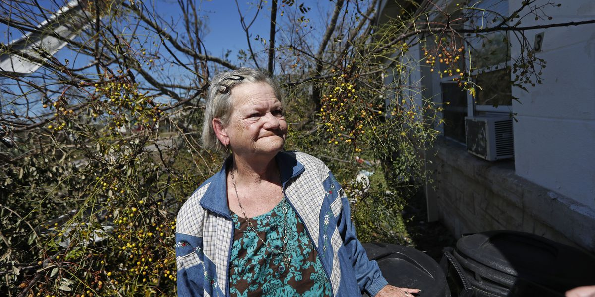 For those without much, Hurricane Michael creates hardship