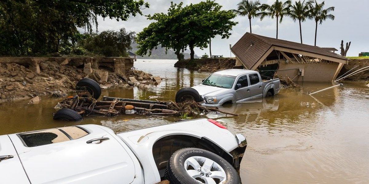 That time Kauai got more than 4 feet of rain? It's now a new national rainfall record