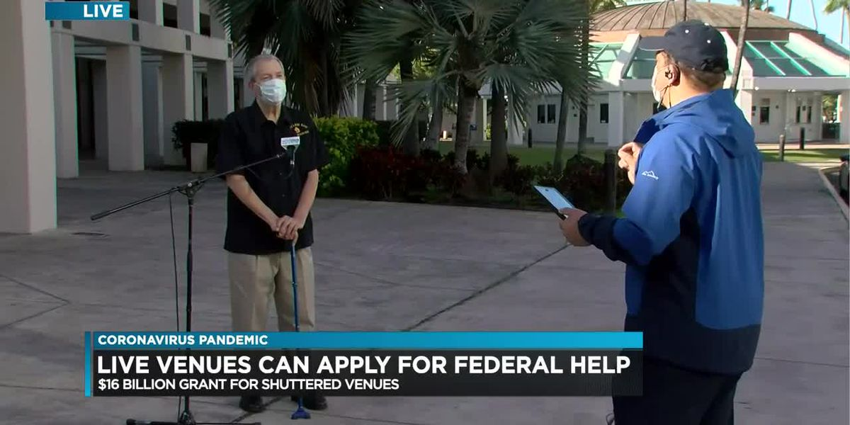 $16B in federal aid up for grabs for Hawaii's live events industry