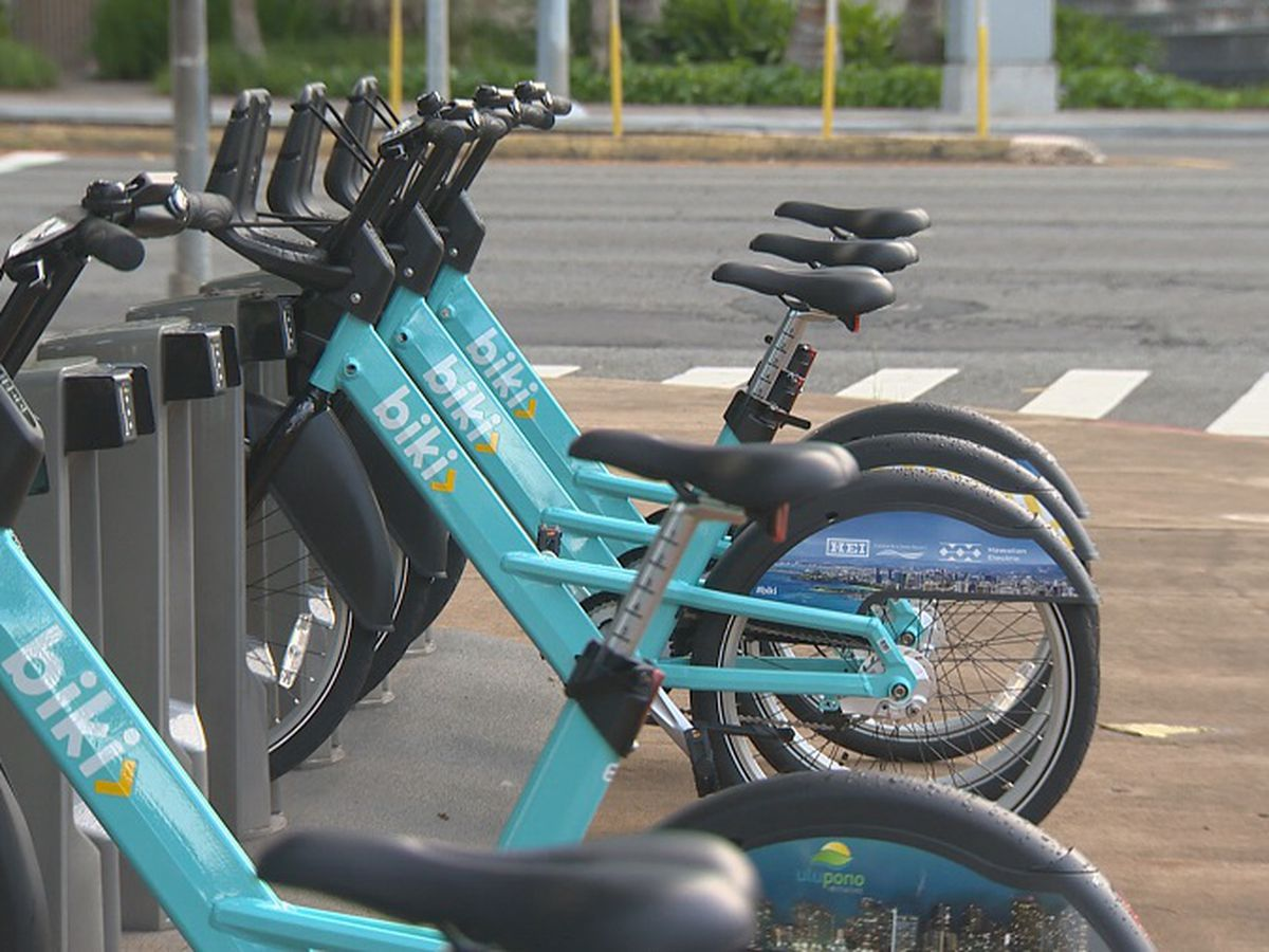 As rides dip, Bikeshare Hawaii to cut back on Biki stations, services