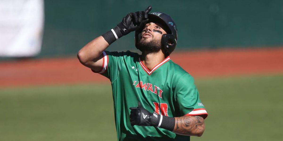 UH baseball team wins final game of Iowa series off Baeza walk-off single in 10th inning