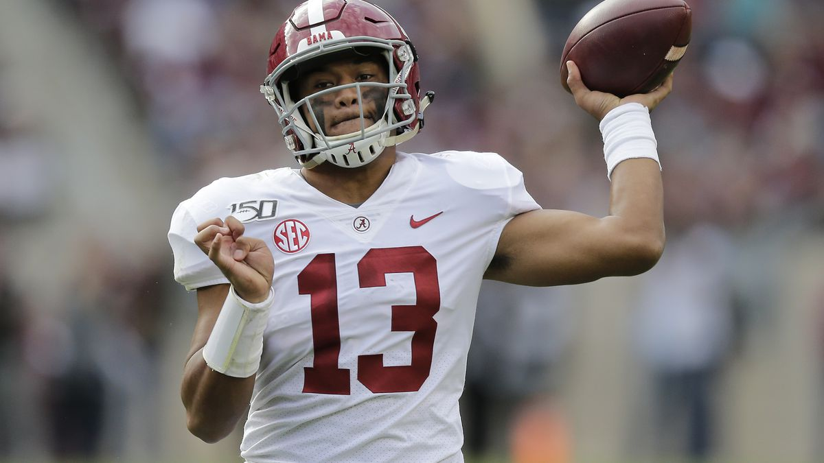 Tagovailoa, top-ranked Tide keep rolling against Texas A&M