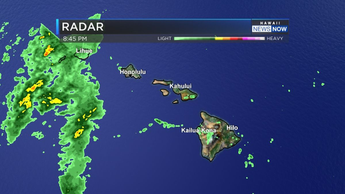 Flash flood watch posted for Kauai, Niihau as cold front approaches