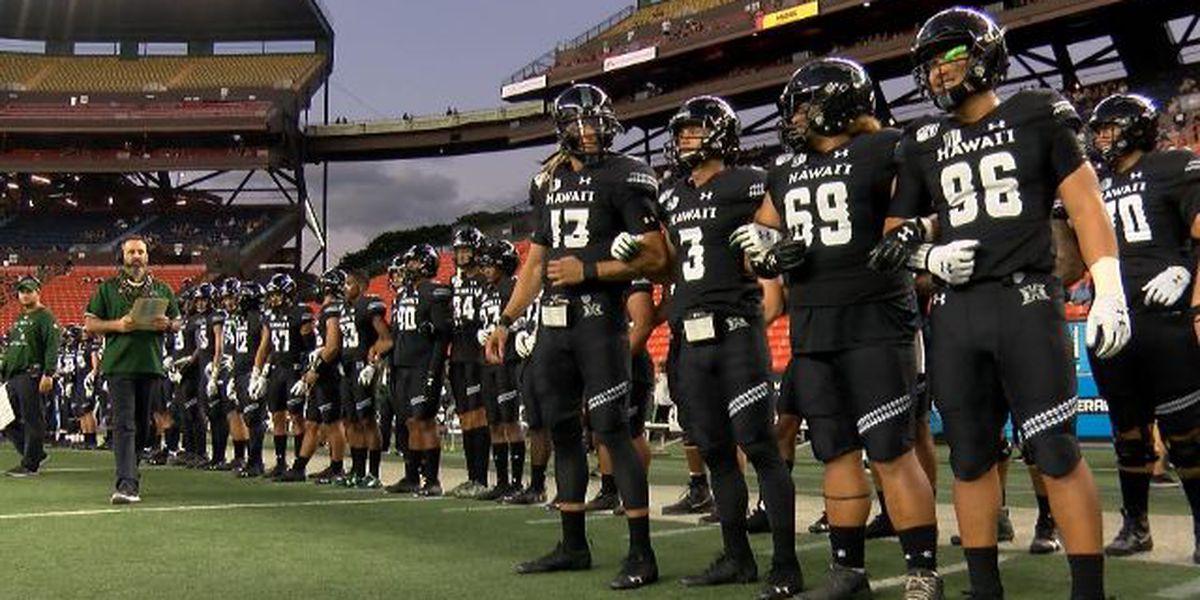 Rainbow Warriors Football ranked third in Mountain West preseason polls