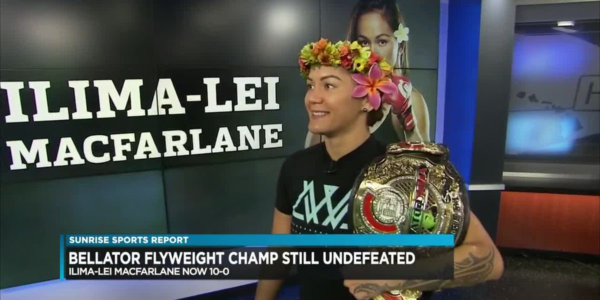 MMA champion MacFarlane back home after successful title defense