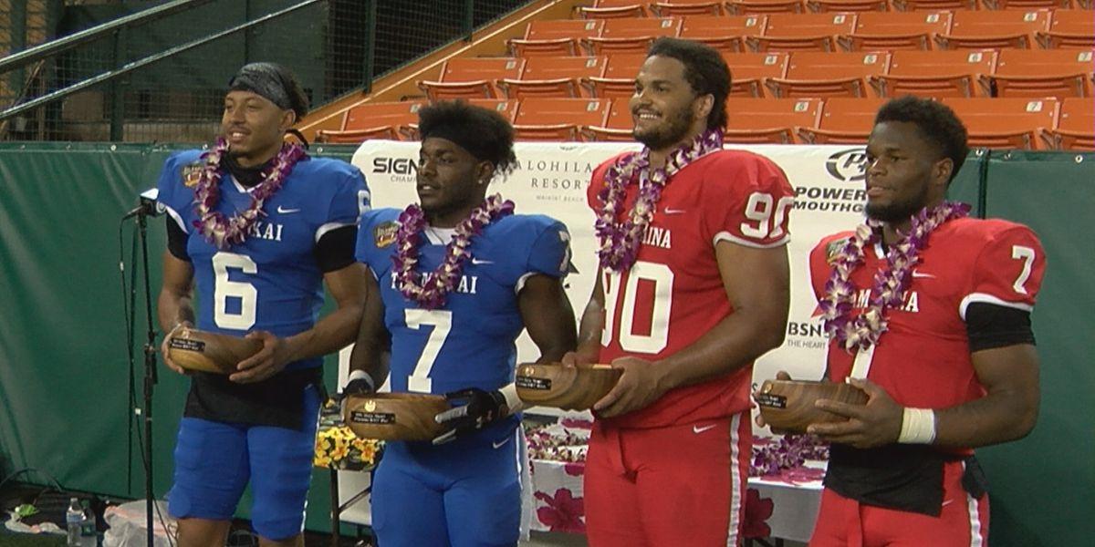 Team Kai bests Team 'Aina in 2021 Hula Bowl, likely last game at Aloha Stadium