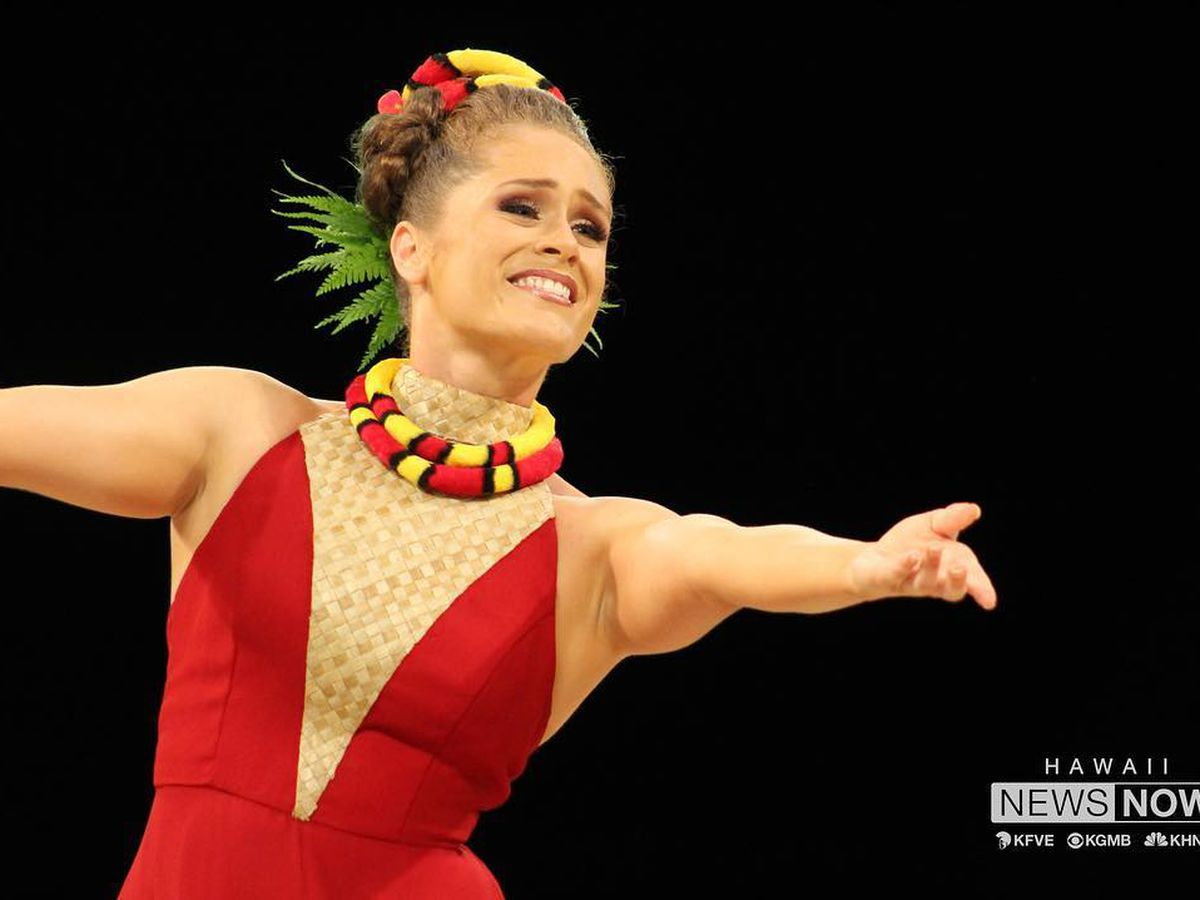 Oahu dancer earns coveted Miss Aloha Hula title at Merrie Monarch