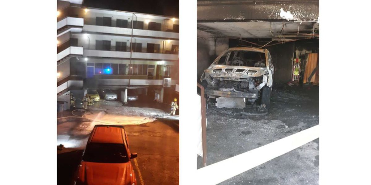 Intentionally-set fire in a Punchbowl garage causes thousands in damage