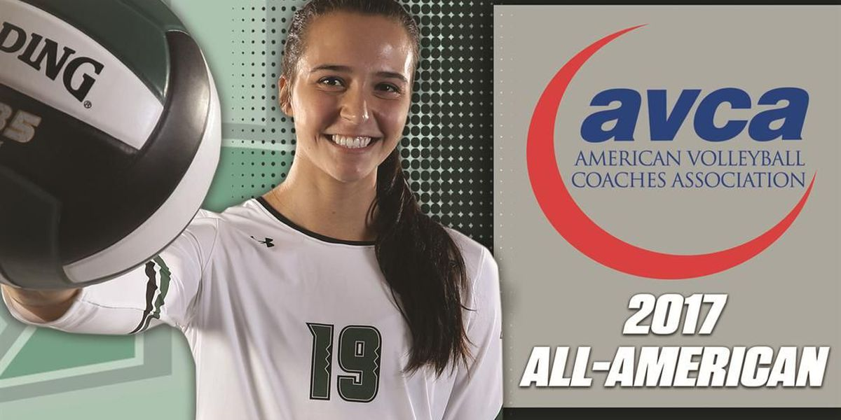 Rainbow Wahine volleyball's Emily Maglio earns AVCA second team all-America selection