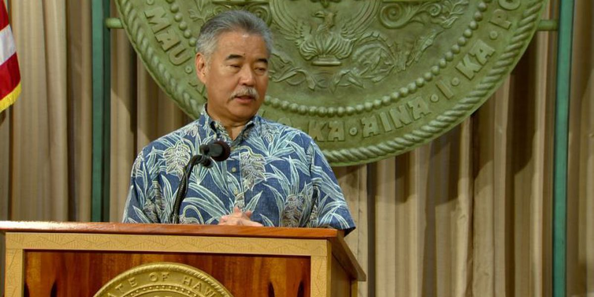 Ige: Extension of legislative session for rail debate a 'waste of time'