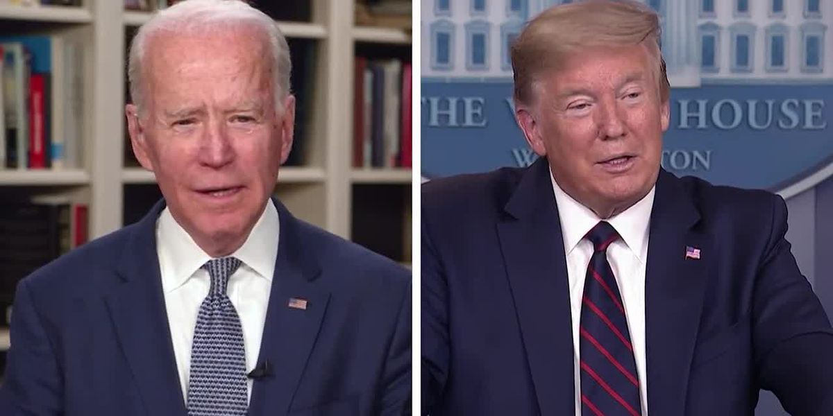 Biden, Trump say they'll discuss coronavirus pandemic