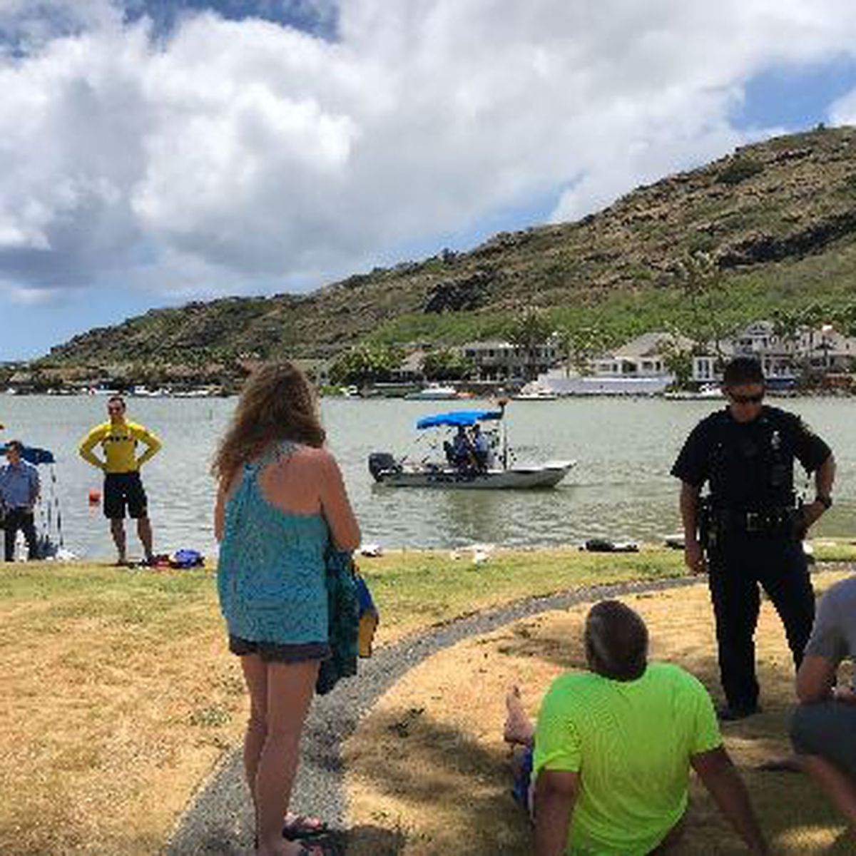 Woman who died after car ended up in Hawaii Kai lagoon identified