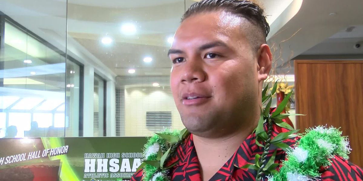 Tuitele calls Hall of Honor induction a dream come true