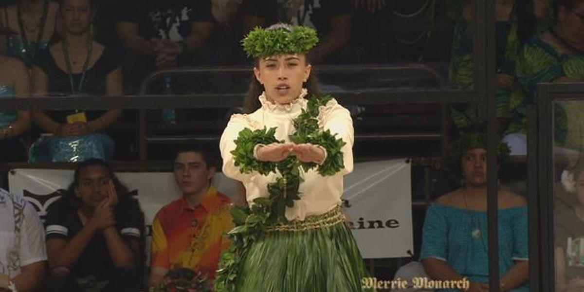 2018 Miss Aloha Hula - Kahiko: Joelle Nohealani Kalima