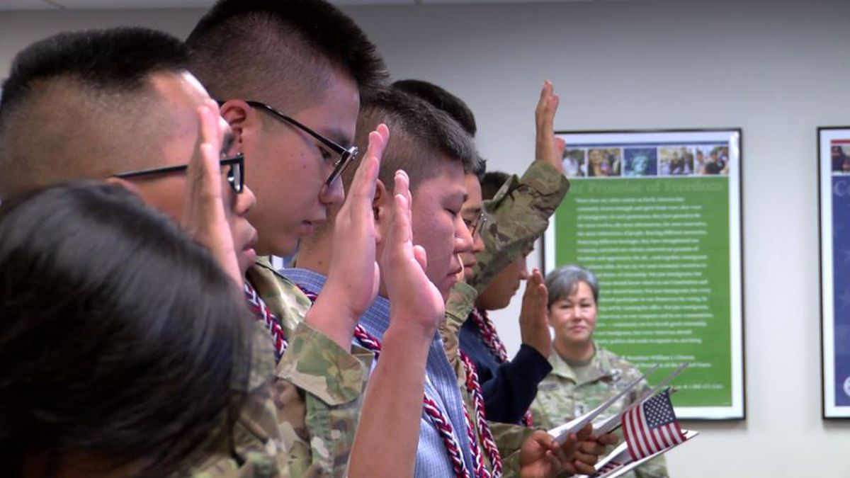 45 people take the oath, become new U.S. citizens