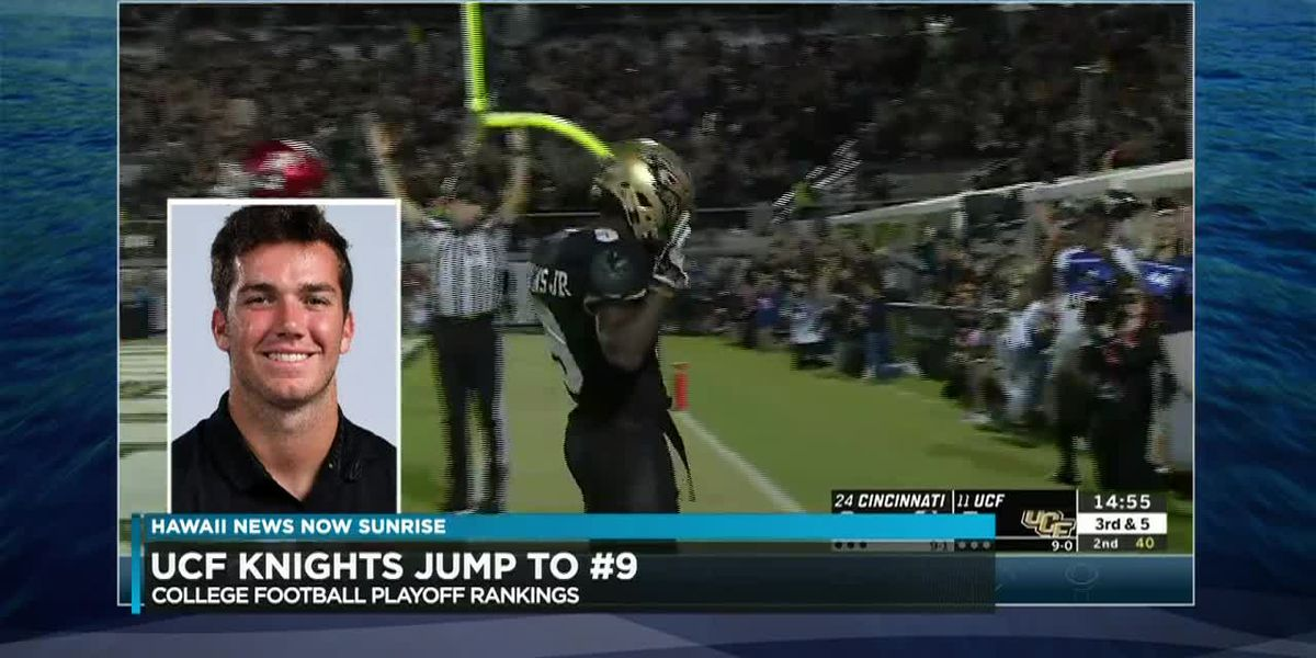 Milton, UCF continue to move up college Football Playoff rankings