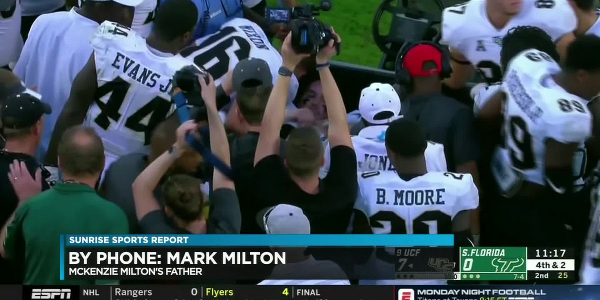 'A tough situation': Milton's father discusses injury, offers update on son