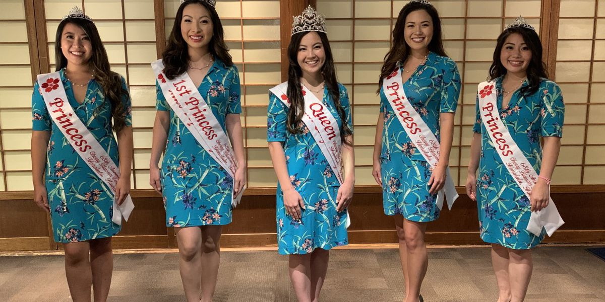 Without its usual crowd, a new Cherry Blossom Festival queen is crowned