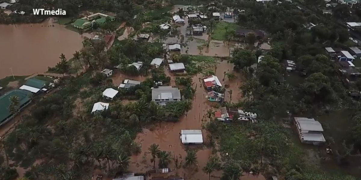 PHOTOS: Samoa reeling after strong tropical cyclone