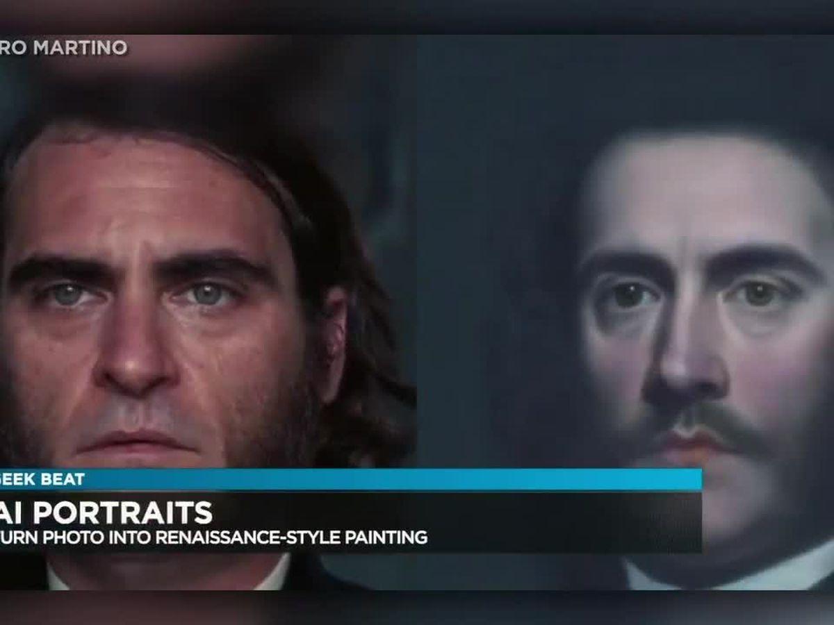 Geek Beat: Artificial intelligence portraits, an MIT idea!
