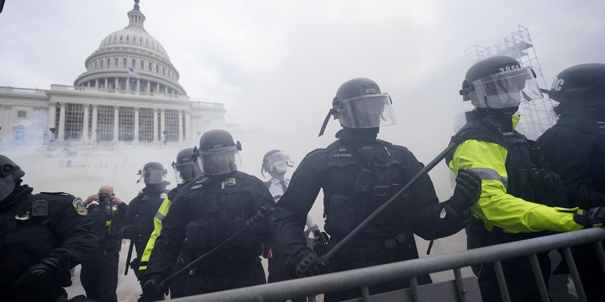 Capitol police chief defends response to 'criminal' rioters