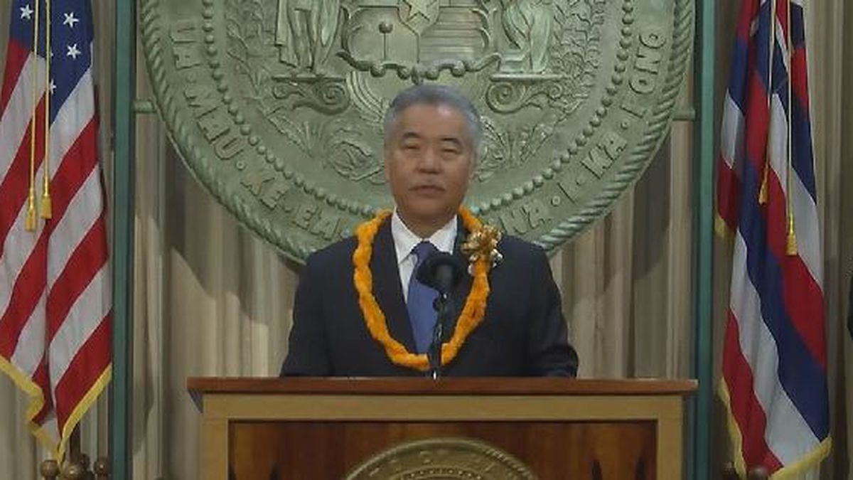In State of the State, Ige urges collaboration but offers few details on next steps