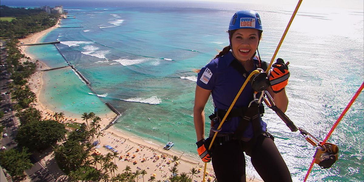 Special Olympics Hawaii Over The Edge