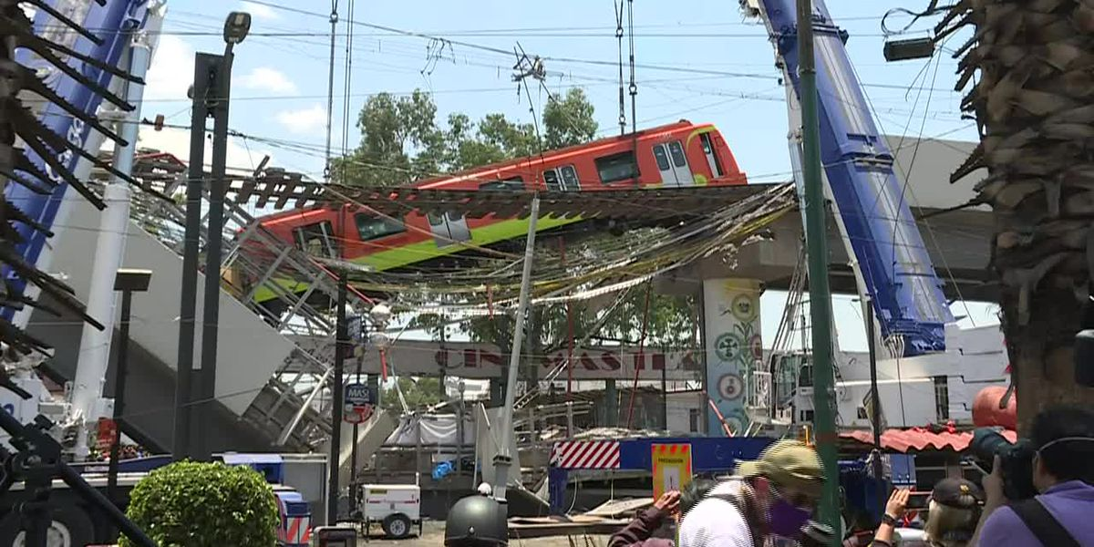 Second train removed after tragic collapse in Mexico City