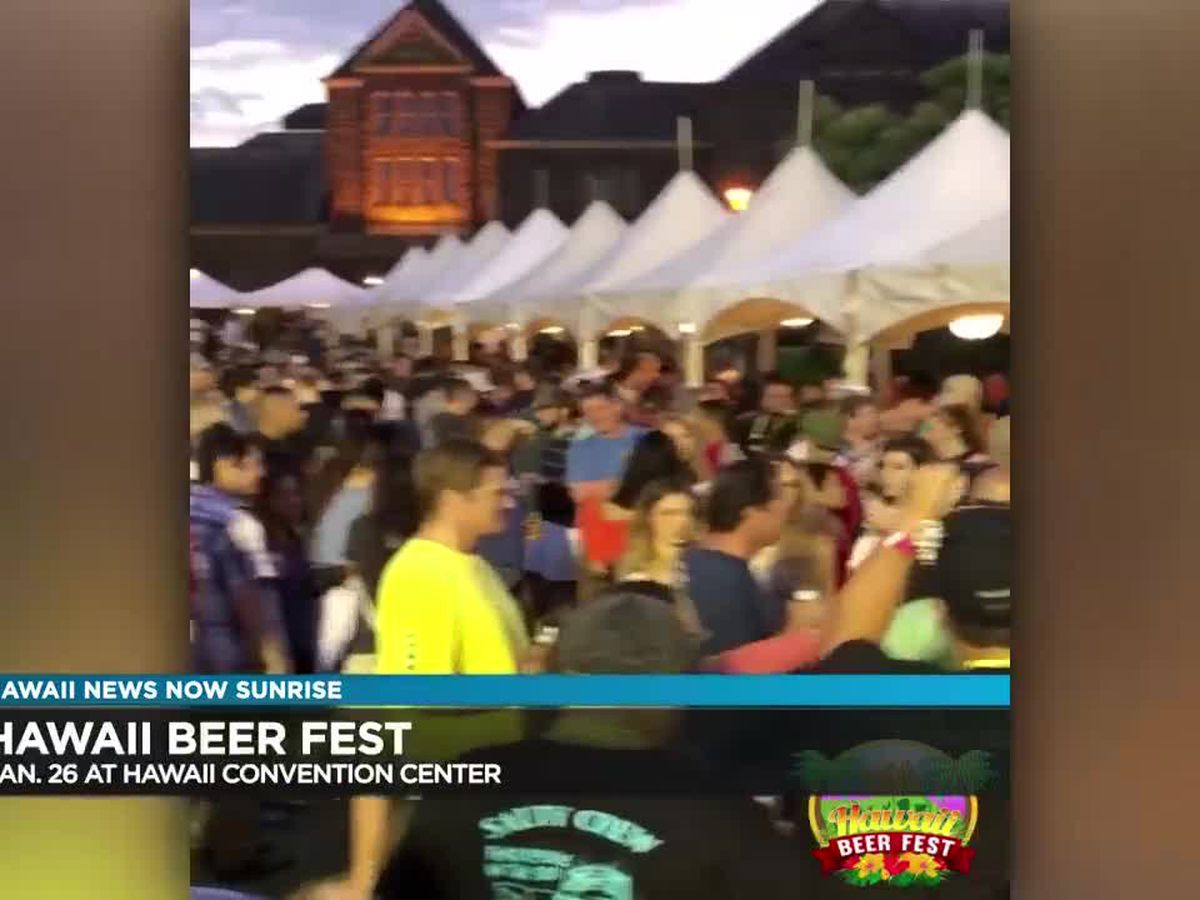 Hawaii Beer Fest to feature 100 craft, draft, and international beers