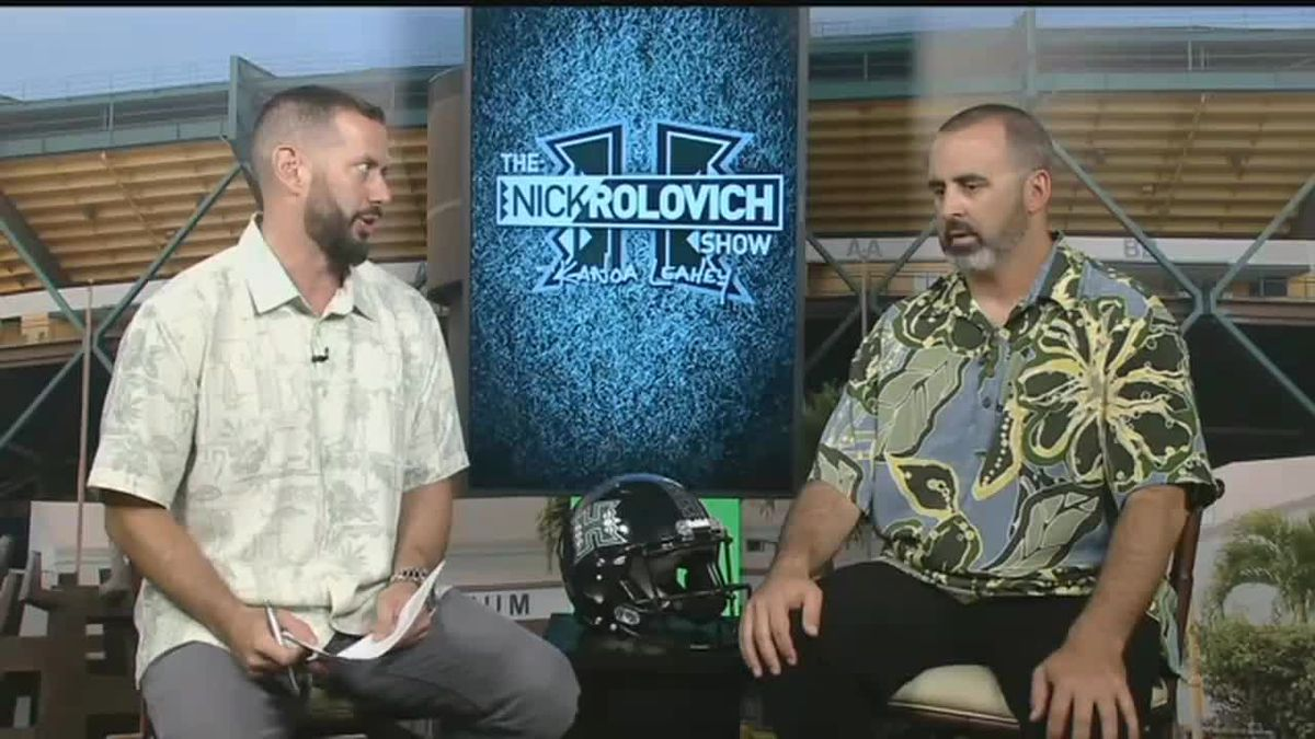 Week 2: Hawaii tops Navy in home game shootout, 59-41 | The Nick Rolovich Show.