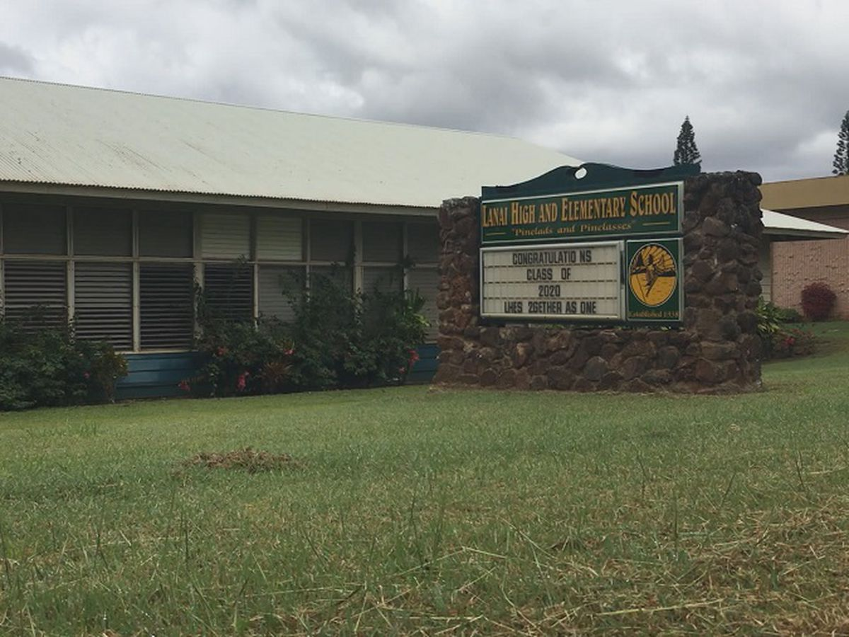 3 students at Lanai High and Elementary School test positive for COVID-19