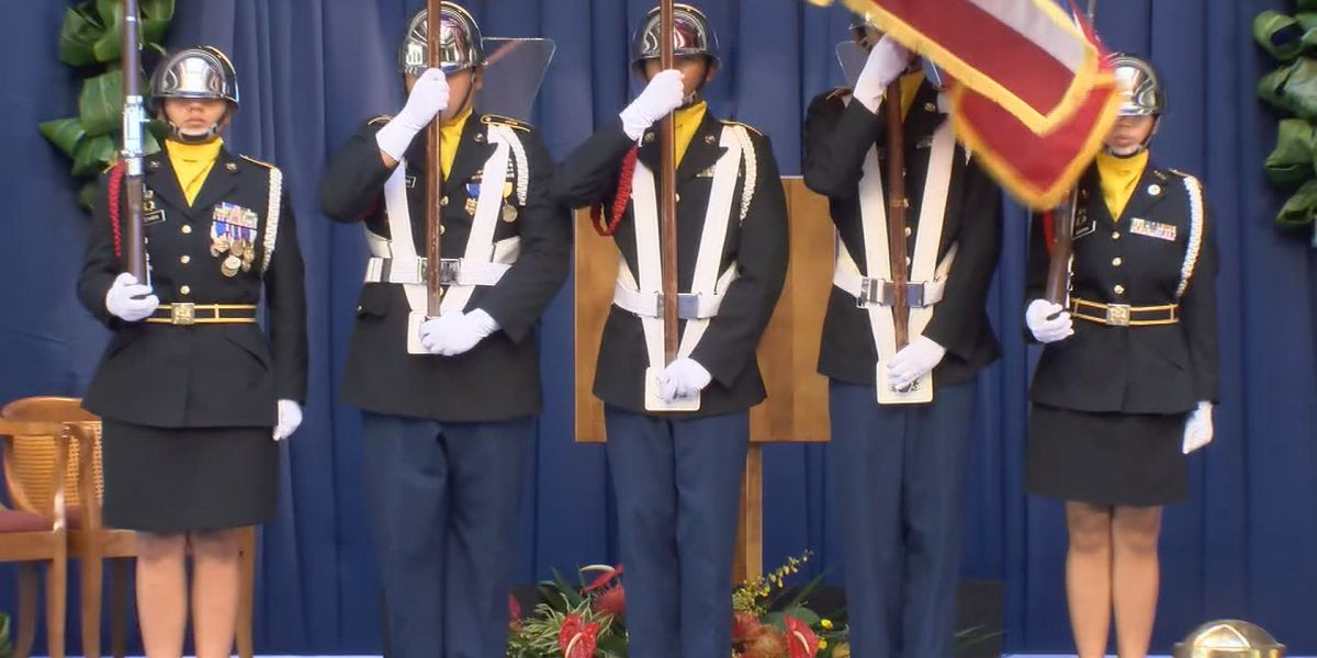 10-cannon salute at governor's inauguration sent students at Honolulu school fleeing from classrooms