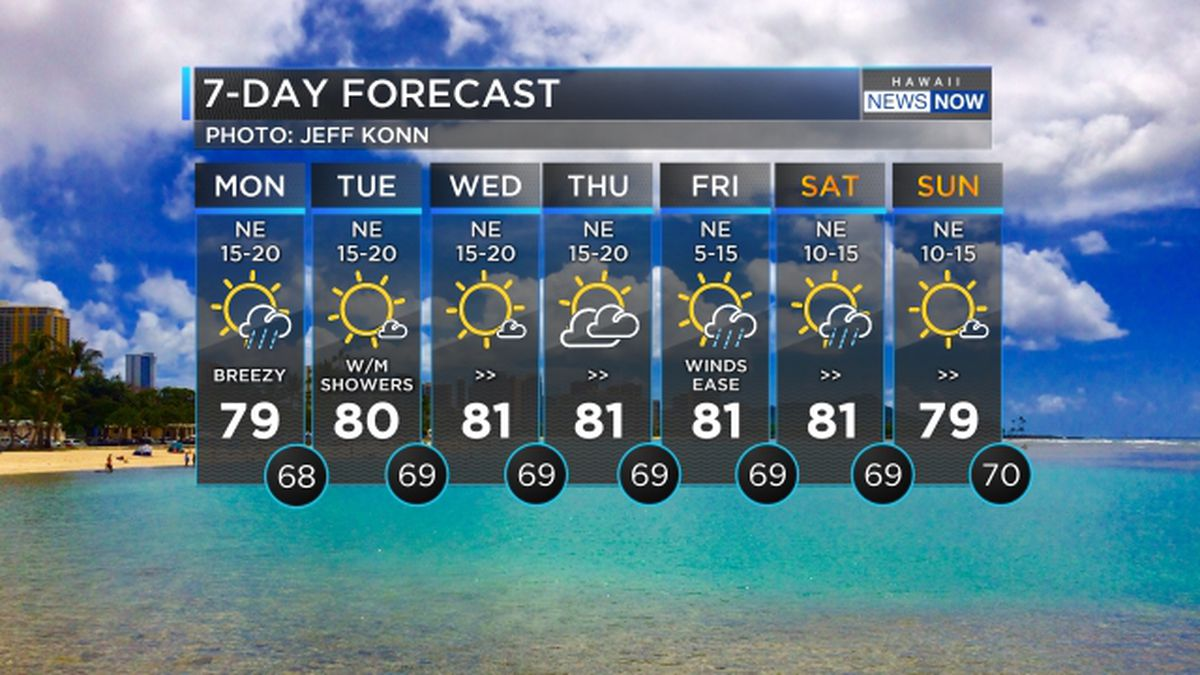 Forecast: Thunderstorms possible over parts of the state today