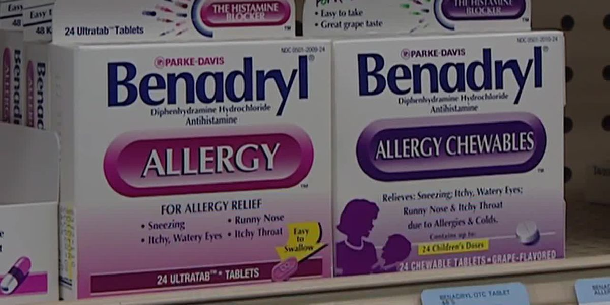 Benadryl Challenge: FDA warns public about overconsuming allergy medicine