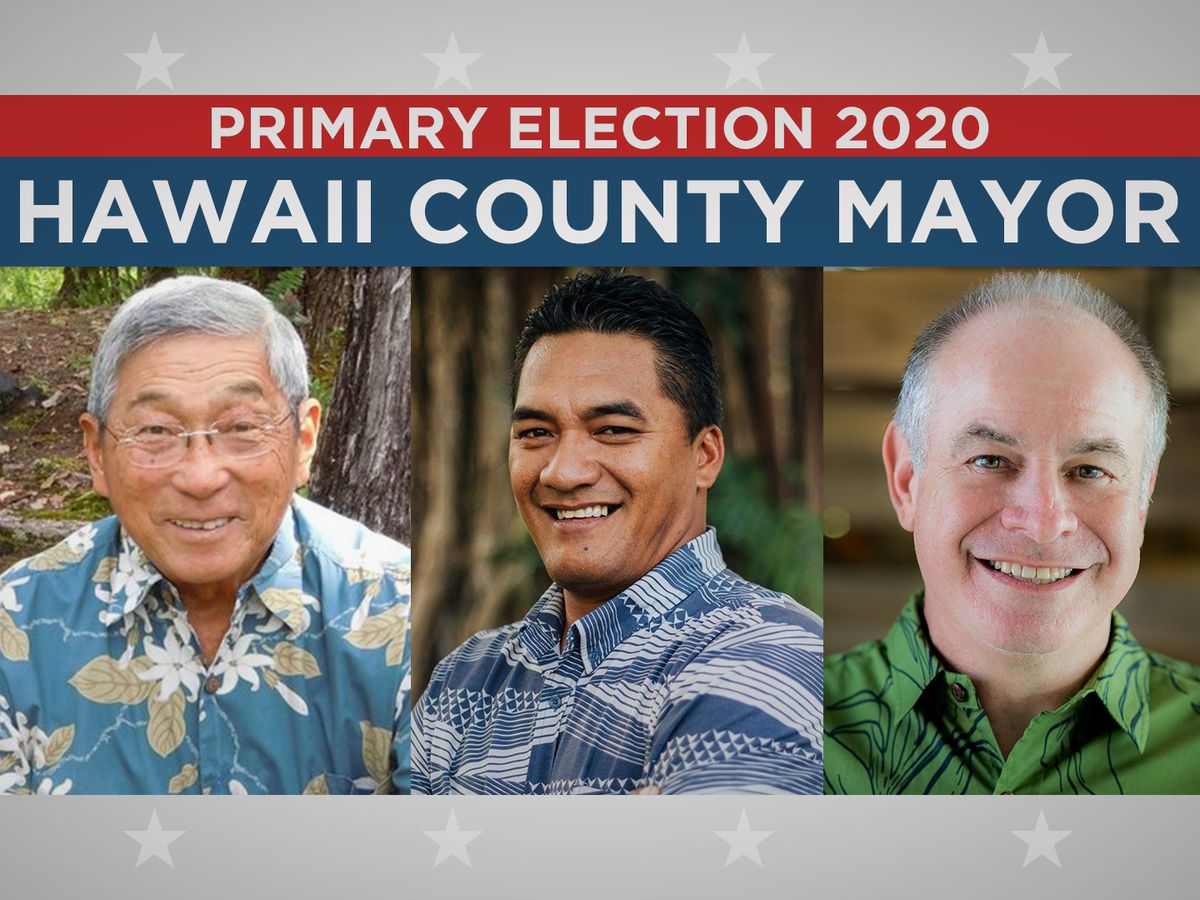 Kim trailing challengers Roth, Marzo in race for Big Island mayor
