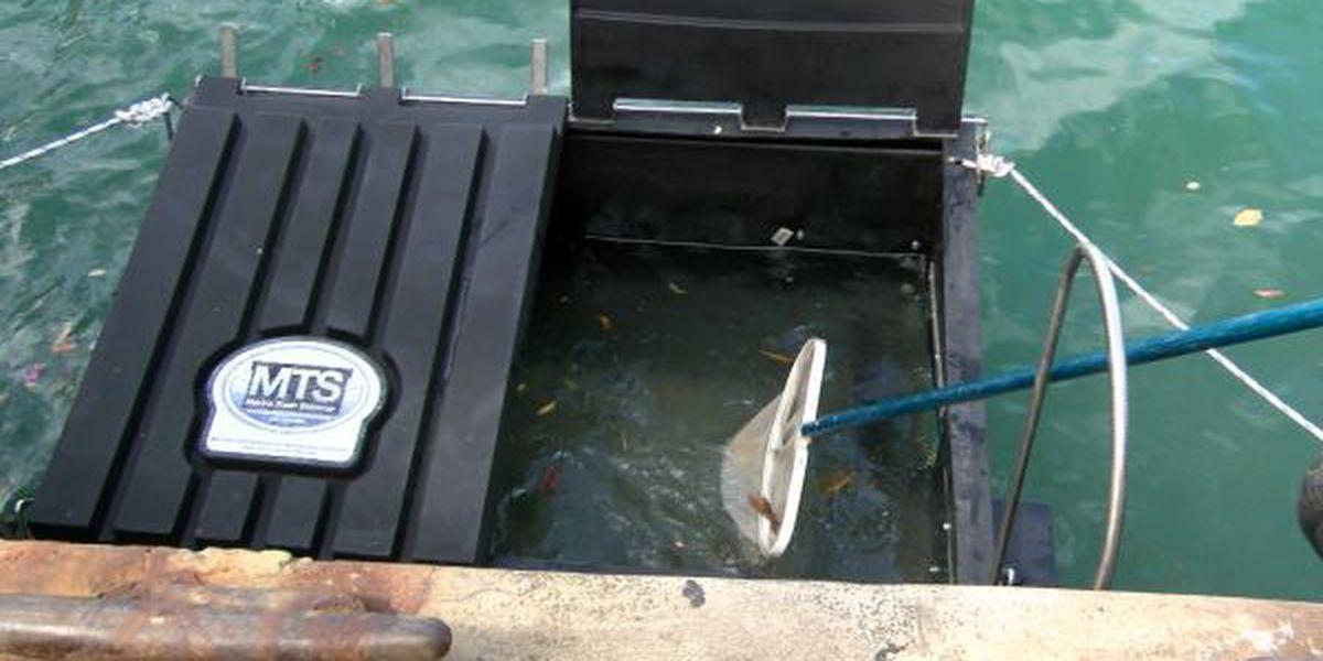 New 'skimmer' gobbling up trash at Kewalo Harbor