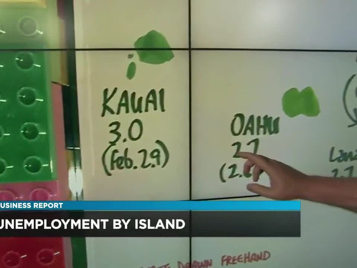 Business Report: March unemployment