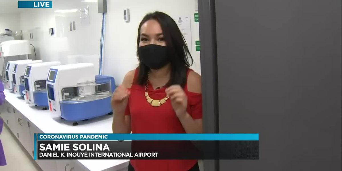 City's mobile testing lab at Honolulu airport now open to inter-island travelers