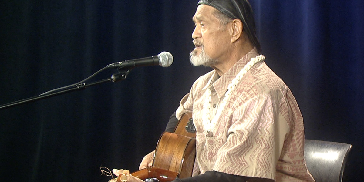 Legendary Hawaiian musician Cyril Pahinui dies at 68