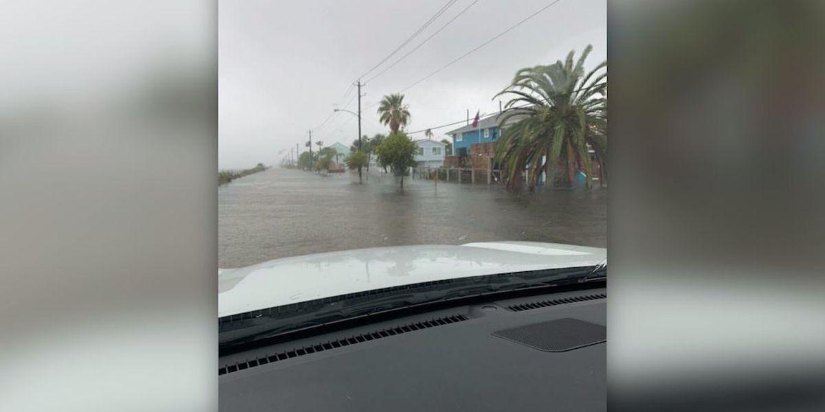 Texas sees flooding as Tropical Storm Beta makes landfall on coast