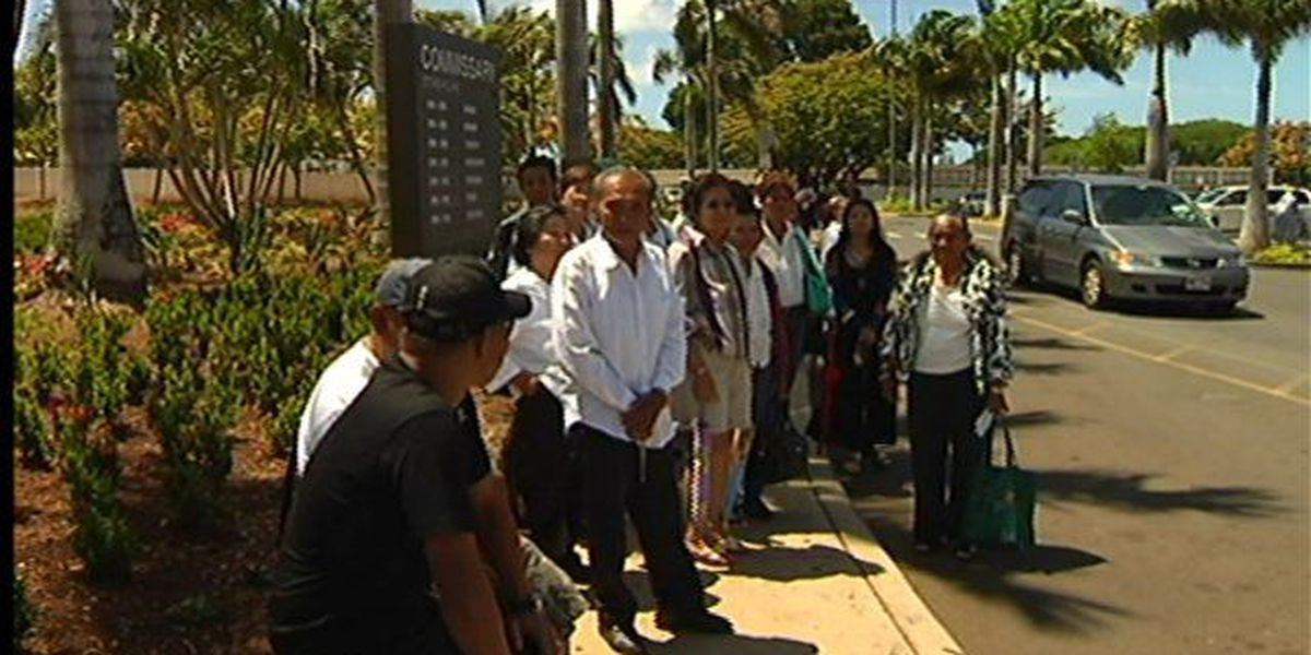 Dozens of Pearl Harbor Commissary workers get dismissed
