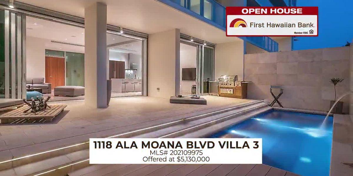 Open House: 3 BD corner lot in Celebrations Waikele and a ultra-luxury residence in Waiea