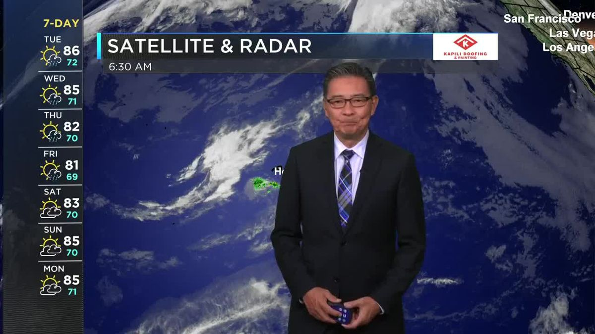 HNN Morning Web Weather Tuesday, May 4, 2021