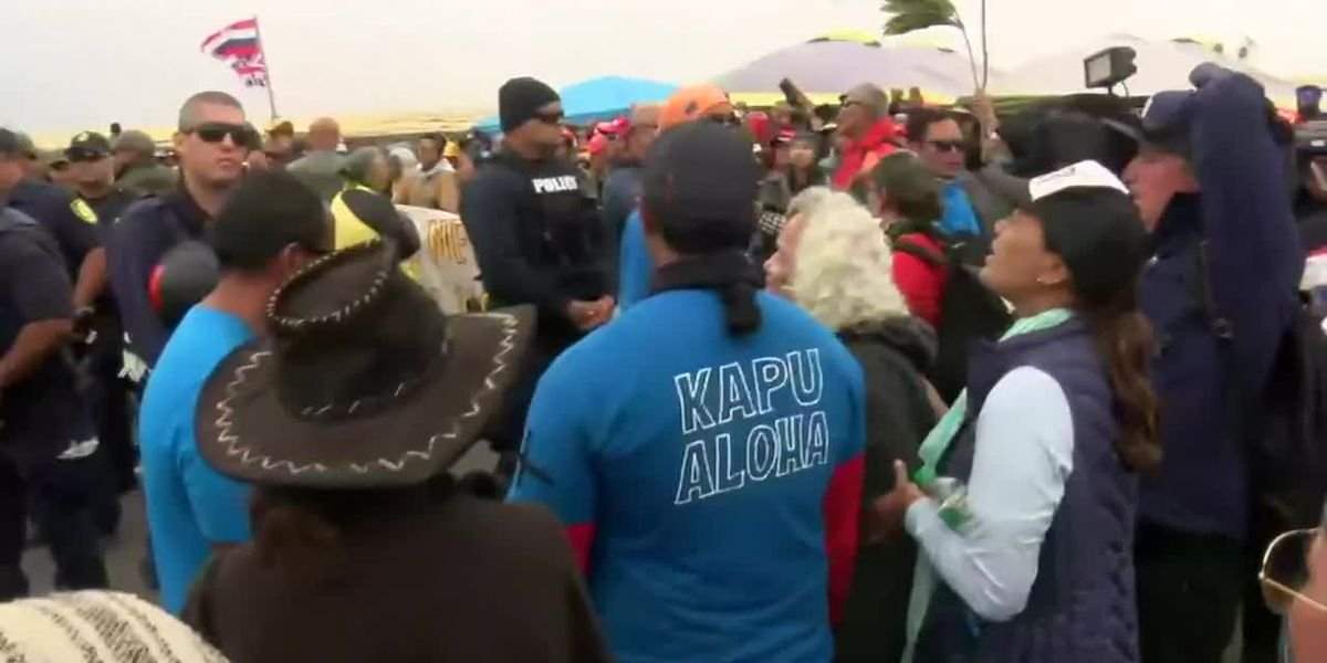 TMT supporters: Mauna Kea road can be cleared of protesters based off Kahuku wind farm actions