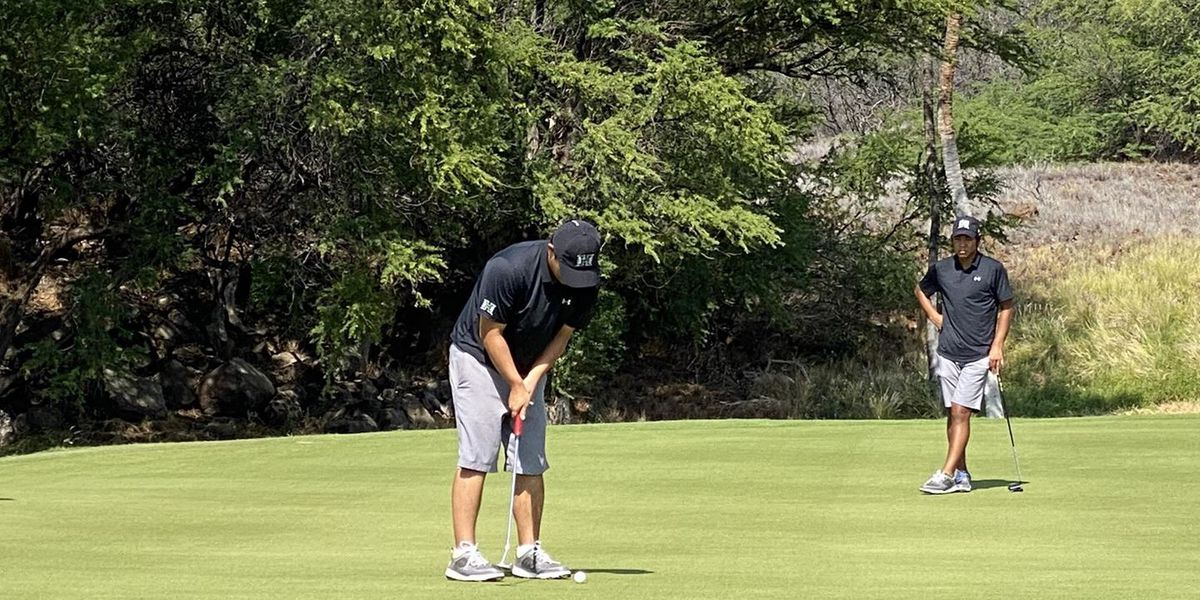 UH's Kanno shoots 5-under in round one of Amer Ari Invitational on Big Island.